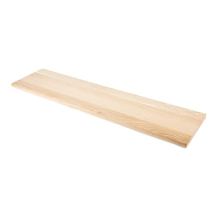 Unfinished Red Oak Solid Hardwood 1 in thick x 11.5 in wide x 36 in Length Tread
