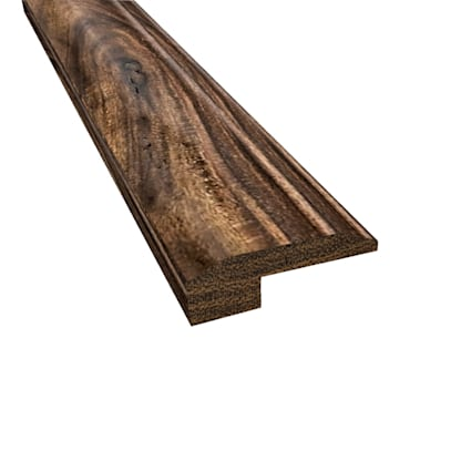 Prefinished Tobacco Road Hardwood 5/8 in thick x 2 in wide x 6.5 ft Length Threshold