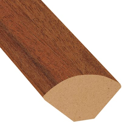 Boa Vista Brazilian Cherry Laminate 0.75 in wide x 7.5 ft length Quarter Round