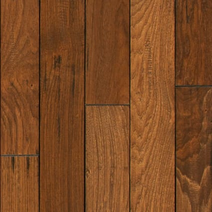 3/4 in. x 4 in. Summer Harvest Hickory Solid Hardwood Flooring