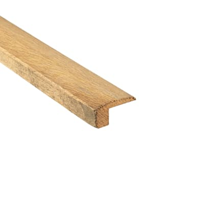 Unfinished White Oak Hardwood 1.063 in thick x 2 in wide x 8 ft Length Medium Threshold