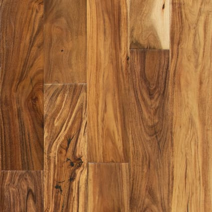 7/16 in. x 4.75 in. Tobacco Road Acacia Easy Click Engineered Hardwood Flooring