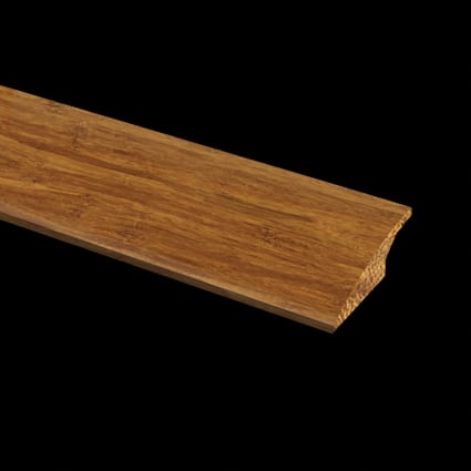 Prefinished Strand Carbonized Bamboo 1/2 in thick x 2 in wide x 72 in Length Reducer