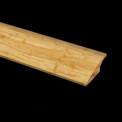 Prefinished Strand Natural Bamboo 1/2 in thick x 2 in wide x 72 in Length Reducer