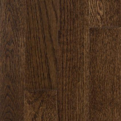 3/4 in. x 3.25 in. Mocha Oak Solid Hardwood Flooring