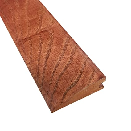 Prefinished Cherry Oak Hardwood 3/4 in thick x 2.25 in wide x 78 in Length Reducer