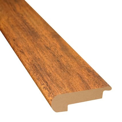 Bronzed Brazilian Teak Laminate 2.3 in wide x 7.5 ft Length Stair Nose