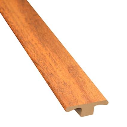 Bronzed Brazilian Teak Laminate 1.75 in wide x 7.5 ft Length T-Molding