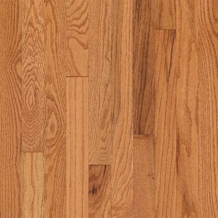 3/4 in. x 2.25 in. Butterscotch Oak Solid Hardwood Flooring