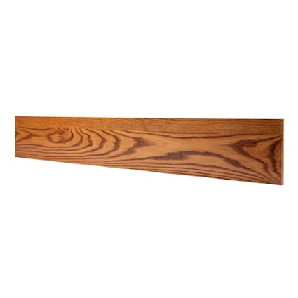 Prefinished Classic Gunstock 3/4 in thick x 7.5 in wide x 48 in Length Riser