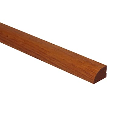 Prefinished Butterscotch Hardwood 1/2 in thick x .75 in wide x 78 in Length Shoe Molding
