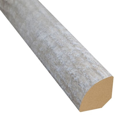 Delaware Bay Driftwood Laminate 1.075 in wide x 7.5 ft Length Quarter Round