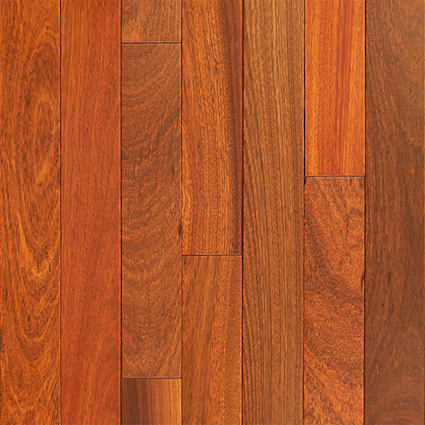 3/4 in. x 3 1/4 in. Bloodwood Solid Hardwood Flooring