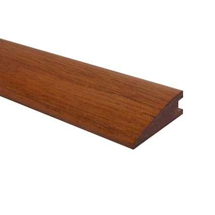 Prefinished Brazilian Cherry Hardwood 3/4 in thick x 2.25 in wide x 78 in thick Reducer