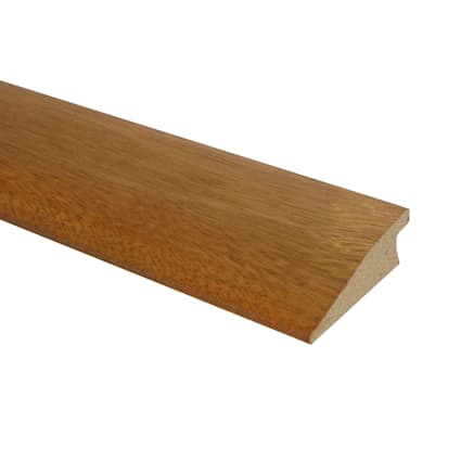 Prefinished Golden Teak Tamboril Hardwood 3/4 in thick x 2.25 in wide x 78 in Length Reducer