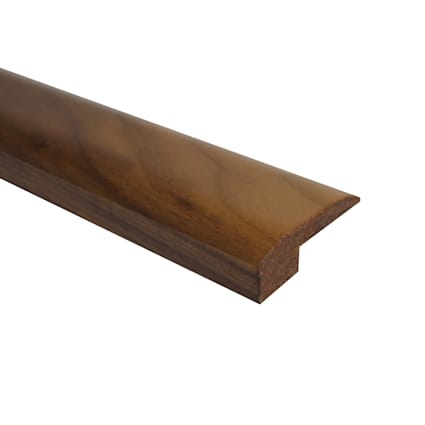 Prefinished Matte American Walnut Hardwood 5/8 in thick x 2 in wide x 78 in Length Threshold