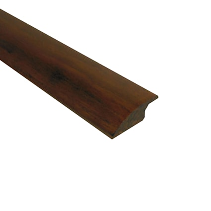 Prefinished Antique Hazel Bamboo 1/2 in thick x 2 in wide x 72 in Length Overlap Reducer