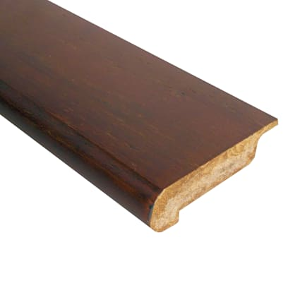 Prefinished Antique Hazel Bamboo 1/2 in thick x 3.25 in wide x 72 in Length Stair Nose