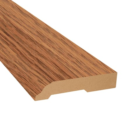 Cinnabar Oak Laminate 3.25 in wide x 7.5 ft Length Baseboard