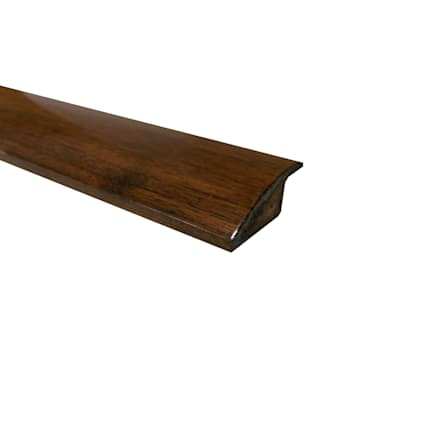 Prefinished Acacia Overlap Hardwood 1/2 in thick x 2 in wide x 78 in Length Reducer