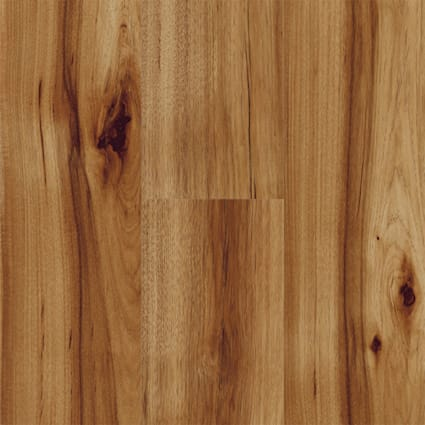 12mm Heard County Hickory High Gloss Laminate Flooring 6.26 in. Wide x 54.45 in. Long