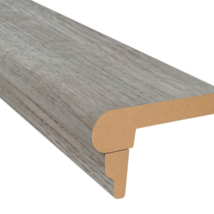 Delaware Bay Driftwood Laminate 2.3 in wide x 7.5 ft Length Flush Stair Nose