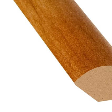 Heard County Hickory Laminate 0.75 in wide x 7.5 ft length Quarter Round