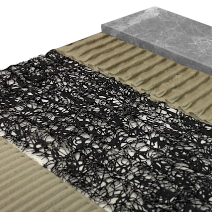 Anti-Fracture Crack Isolation Membrane