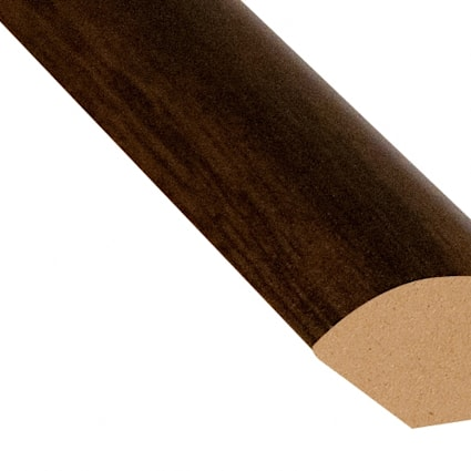 Riverside Hickory Laminate 0.75 in wide x 7.5 ft length Quarter Round
