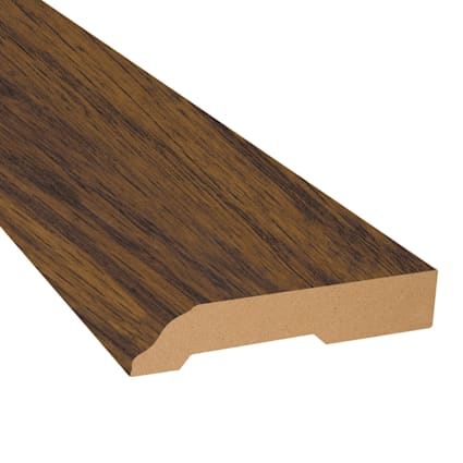 Riverside Hickory Laminate 3.25 in wide x 7.5 ft Length Baseboard