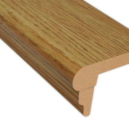 Select Red Oak Laminate 2.3 in wide x 7.5 ft Length Flush Stair Nose