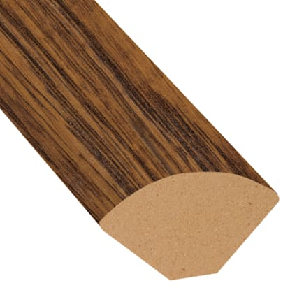 Amber Hickory Laminate 1.075 in wide x 7.5 ft Length Quarter Round