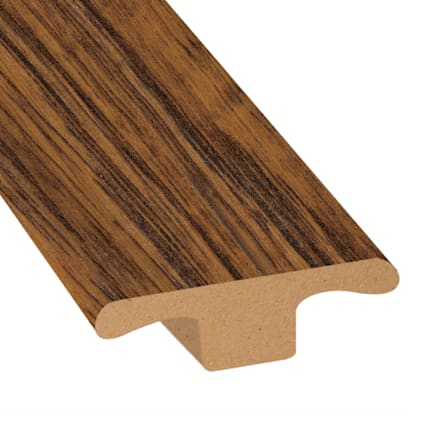 Amber Hickory Laminate 1.75 in wide x 7.5 ft Length T-Molding