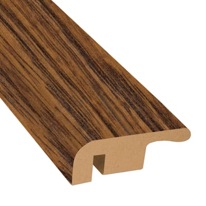 Amber Hickory Laminate 1.374 in wide x 7.5 ft Length End Cap