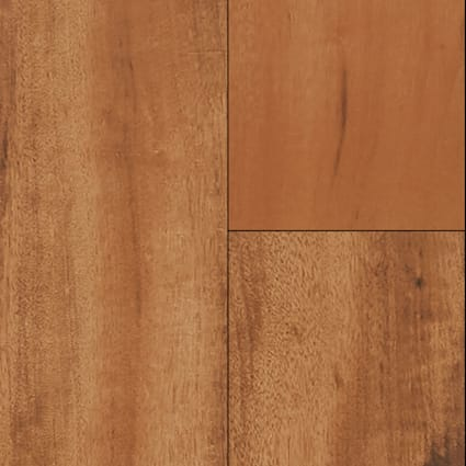 36 in. x 6 in. Elegant Wood Brazilian Koa Porcelain Tile