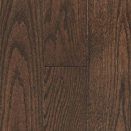 3/4 in. x 5 in. Mocha Oak Solid Hardwood Flooring
