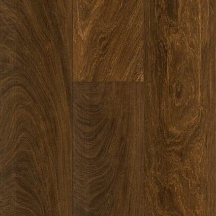 36 in. x 6 in. Elegant Wood Brazilian Ebony Porcelain Tile