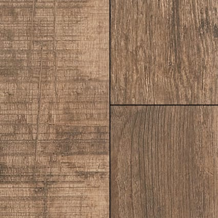 36 in. x 6 in. Golden Lake Oak Porcelain Tile