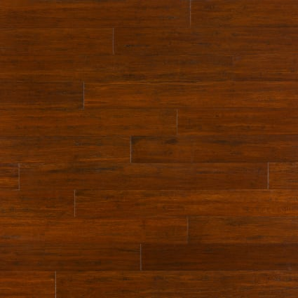 Roasted Almond Strand Distressed Click Engineered Bamboo Flooring