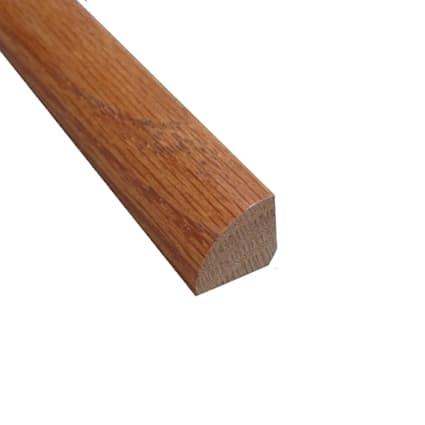 Prefinished Gunstock Red Oak Hardwood 8ft Quarter Round