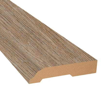 Riverwalk Vinyl 3.25 in wide x 7.5 ft Length Baseboard
