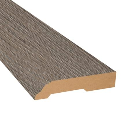 Pewter Oak Laminate 3.25 in wide x 7.5 ft Length Baseboard