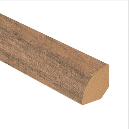 Calico Oak Laminate 1.075 in wide x 7.5 ft Length Quarter Round