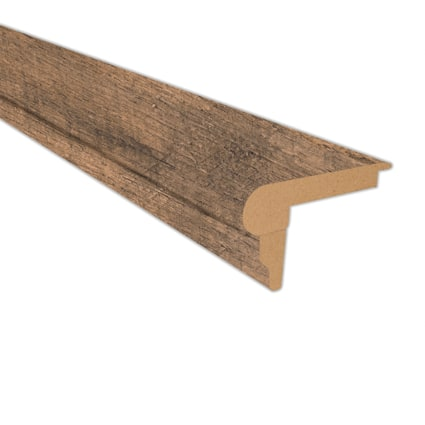 Calico Oak Laminate 2.3 in wide x 7.5 ft Length Flush Stair Nose