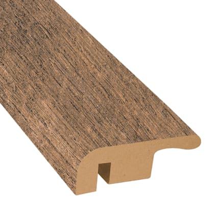 Calico Oak Laminate 1.374 in wide x 7.5 ft Length End Cap