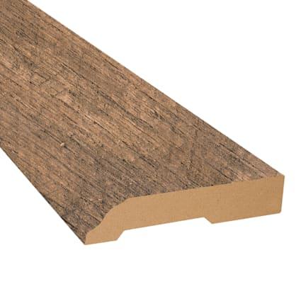 Calico Oak Laminate 3.25 in wide x 7.5 ft Length Baseboard