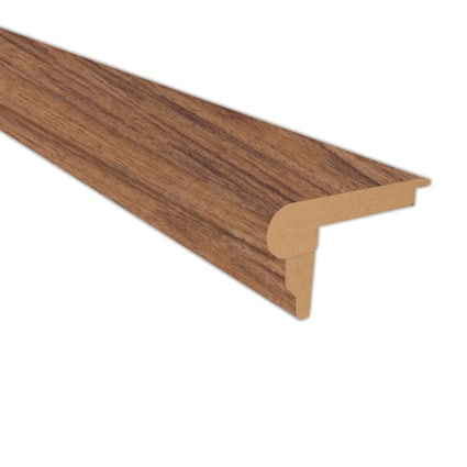 Heritage Walnut Laminate 2.3 in wide x 7.5 ft Length Flush Stair Nose