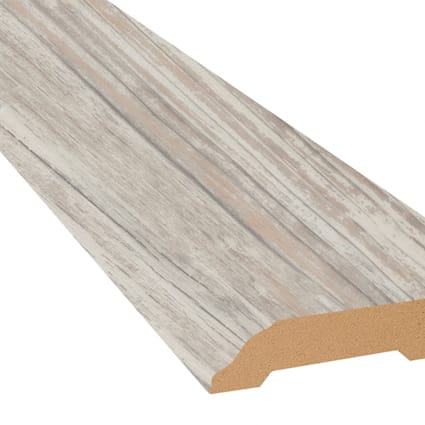 Grizzly Bay Oak Vinyl 3.25 in wide x 7.5 ft Length Baseboard