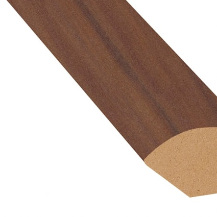 Smoked Cherry Laminate 1.075 in wide x 7.5 ft Length Quarter Round