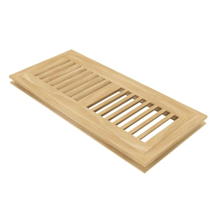 "4"" x 12"" Maple Flush Grill"